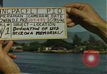 Image of USS Arizona Memorial Honolulu Hawaii USA, 1962, second 3 stock footage video 65675061878