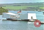 Image of USS Arizona Memorial Honolulu Hawaii USA, 1962, second 12 stock footage video 65675061878