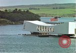 Image of USS Arizona memorial Honolulu Hawaii USA, 1962, second 5 stock footage video 65675061879
