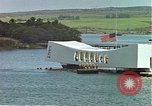 Image of USS Arizona memorial Honolulu Hawaii USA, 1962, second 6 stock footage video 65675061879