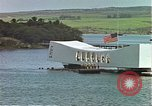 Image of USS Arizona memorial Honolulu Hawaii USA, 1962, second 10 stock footage video 65675061879