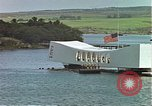 Image of USS Arizona memorial Honolulu Hawaii USA, 1962, second 11 stock footage video 65675061879