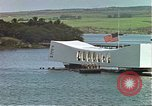 Image of USS Arizona memorial Honolulu Hawaii USA, 1962, second 12 stock footage video 65675061879