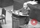 Image of war crimes trial Tokyo Japan, 1948, second 1 stock footage video 65675061884