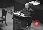 Image of war crimes trial Tokyo Japan, 1948, second 3 stock footage video 65675061884