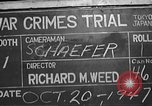 Image of war crimes trial Tokyo Japan, 1947, second 3 stock footage video 65675061886