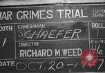 Image of war crimes trial Tokyo Japan, 1947, second 5 stock footage video 65675061886