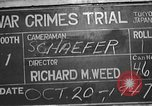 Image of war crimes trial Tokyo Japan, 1947, second 7 stock footage video 65675061886