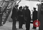 Image of Atlantic Conference Atlantic Ocean, 1941, second 7 stock footage video 65675061892
