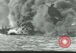 Image of wrecked battleships Pearl Harbor Hawaii USA, 1941, second 6 stock footage video 65675061904