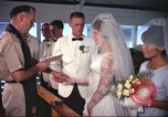 Image of wedding ceremony Vietnam, 1966, second 3 stock footage video 65675061970