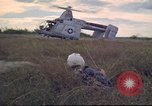 Image of HH-43B Huskie Vietnam, 1965, second 10 stock footage video 65675061995