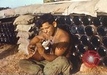 Image of 1st Infantry Division Lai Khe South Vietnam, 1968, second 3 stock footage video 65675062037