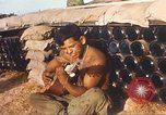 Image of 1st Infantry Division Lai Khe South Vietnam, 1968, second 9 stock footage video 65675062037