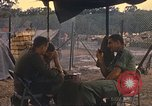 Image of United States officers Vietnam, 1970, second 12 stock footage video 65675062044