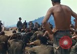 Image of catholic chaplain Vietnam, 1968, second 9 stock footage video 65675062060