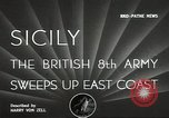 Image of British Army Italy, 1943, second 2 stock footage video 65675062168