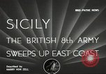 Image of British Army Italy, 1943, second 4 stock footage video 65675062168