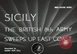 Image of British Army Italy, 1943, second 6 stock footage video 65675062168