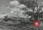 Image of war damage Russian Front, 1944, second 2 stock footage video 65675062180
