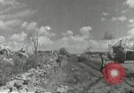 Image of war damage Russian Front, 1944, second 6 stock footage video 65675062180