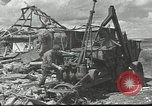 Image of war damage Russian Front, 1944, second 9 stock footage video 65675062180