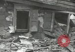 Image of war damage Russian Front, 1944, second 11 stock footage video 65675062180