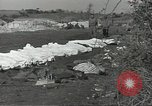 Image of burial of dead bodies Nettuno Italy, 1944, second 2 stock footage video 65675062183