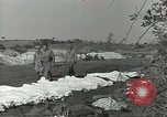 Image of burial of dead bodies Nettuno Italy, 1944, second 9 stock footage video 65675062183