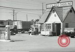 Image of gasoline station Oklahoma United States USA, 1947, second 5 stock footage video 65675062208