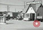 Image of gasoline station Oklahoma United States USA, 1947, second 7 stock footage video 65675062208