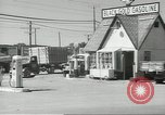 Image of gasoline station Oklahoma United States USA, 1947, second 9 stock footage video 65675062208