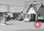 Image of gasoline station Oklahoma United States USA, 1947, second 11 stock footage video 65675062208