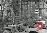 Image of bomb damaged rail road station Hamm Germany, 1945, second 3 stock footage video 65675062218