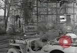 Image of bomb damaged rail road station Hamm Germany, 1945, second 5 stock footage video 65675062218