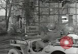 Image of bomb damaged rail road station Hamm Germany, 1945, second 8 stock footage video 65675062218