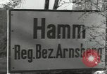 Image of bomb damaged rail road station Hamm Germany, 1945, second 12 stock footage video 65675062218
