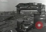 Image of bomb damaged rail road station Hamm Germany, 1945, second 5 stock footage video 65675062219