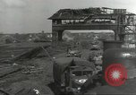 Image of bomb damaged rail road station Hamm Germany, 1945, second 8 stock footage video 65675062219