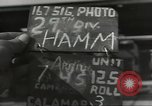 Image of bomb damaged rail road station Hamm Germany, 1945, second 2 stock footage video 65675062220