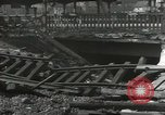 Image of bomb damaged rail road station Hamm Germany, 1945, second 6 stock footage video 65675062220