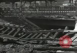 Image of bomb damaged rail road station Hamm Germany, 1945, second 7 stock footage video 65675062220