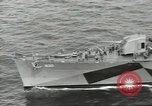 Image of Wounded transferred, ship-to-ship, on Stokes stretcher Mariana Islands, 1944, second 3 stock footage video 65675062229
