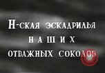Image of Russian airmen Soviet Union, 1941, second 2 stock footage video 65675062261