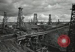 Image of Soviet oil field during World War 2 Soviet Union, 1941, second 11 stock footage video 65675062263