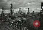 Image of Soviet oil field during World War 2 Soviet Union, 1941, second 12 stock footage video 65675062263