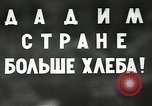 Image of Russian farmers Soviet Union, 1941, second 3 stock footage video 65675062264
