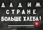 Image of Russian farmers Soviet Union, 1941, second 5 stock footage video 65675062264