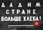 Image of Russian farmers Soviet Union, 1941, second 7 stock footage video 65675062264
