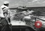 Image of US Navy patrol boat drops depth charges Atlantic Ocean, 1942, second 7 stock footage video 65675062275